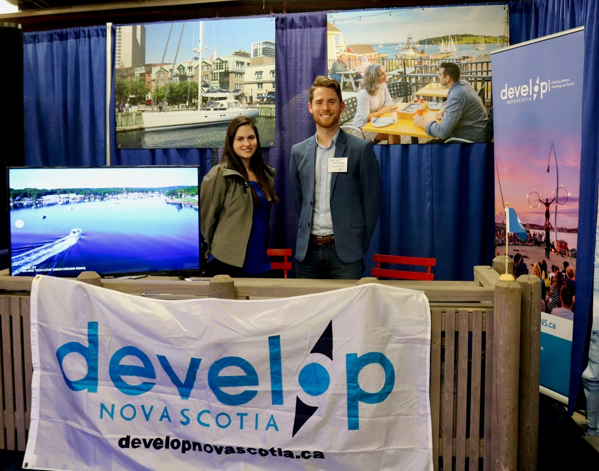 Develop Nova Scotia booth