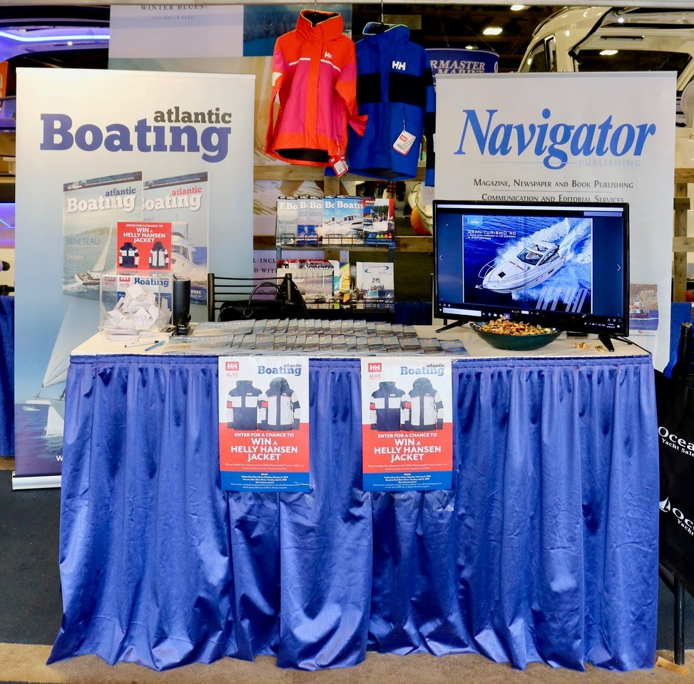 Navigator/Atlantic Boating booth