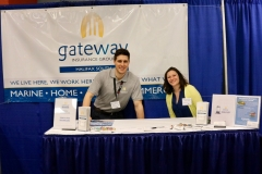 Gateway Insurance booth