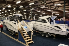 Ocean Yacht Sales booth